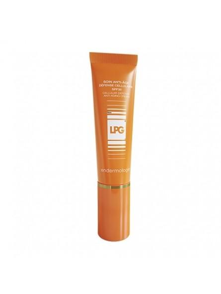 Soin Anti-Âge Défense Cellulaire SPF30 – Cosmetique Endermologie visage LPG