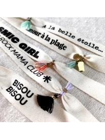 Bracelet message Her - Cosmic girl n°1