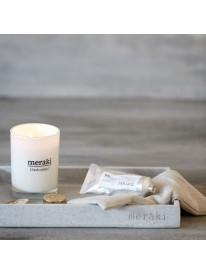 Bougie parfumée - Fresh cotton - MERAKI