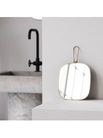 Miroir avec cadre 20 x 22 - Laiton antique - MERAKI