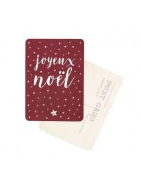 Carte postale - Joyeux Noël - Bordeaux