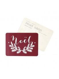 Carte postale - Noël - Bordeaux