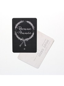 Carte postale - Bonne Année - Ardoise